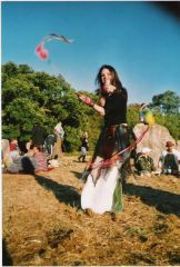 spinning at the stone circle