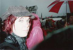 steff in the rain ^_^