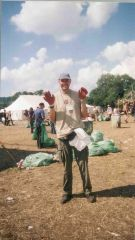 Litter picking, the long Monday 2000 - boy it was a mess&#33