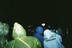 Rain=emergency plastic raincoats!