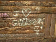 We don't like Glasto - oh no - we love it!