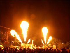 Pyrotechnics show on Thursday night