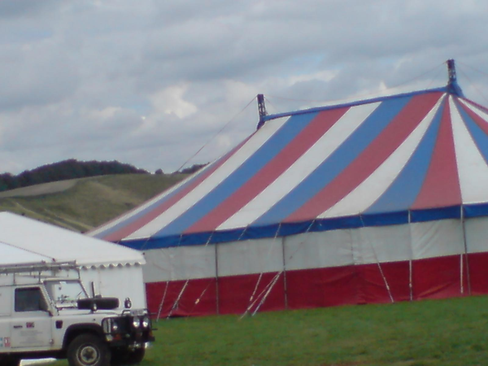 Finishing touches being made to main stage