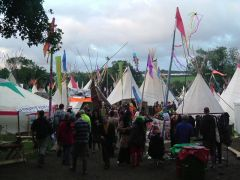 The tipi field