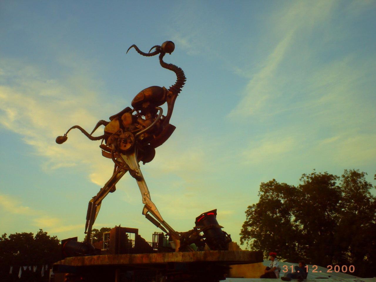 trash sculpture