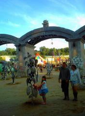 the park entrance