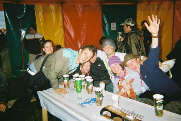 some random folk we met, best part of glastonbury every year