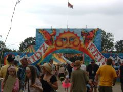 Kidz Field entrance