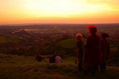 Last Sunset of Summer - Glastonbury Tor