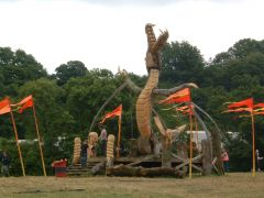 Dragon in Kings Meadow