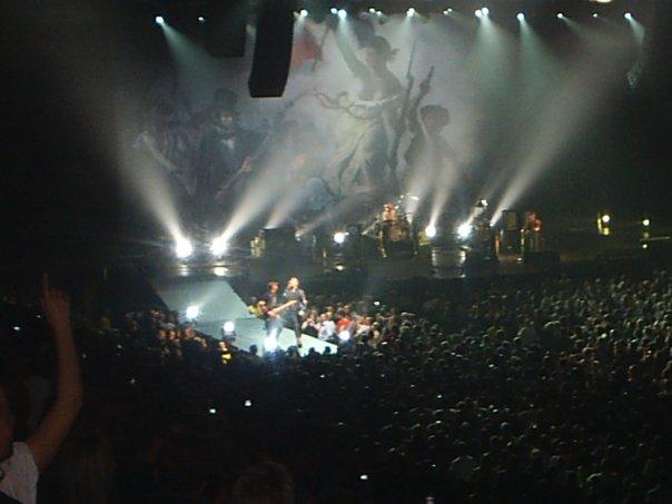 Coldplay Men Arena 2008