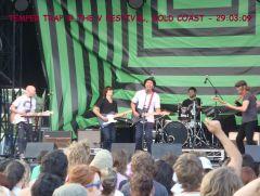 V Festival 2009 - The Temper Trap