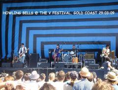 V Festival 2009  - The Howling Bells