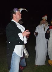 Festrival goers in fancy dress - 2011
