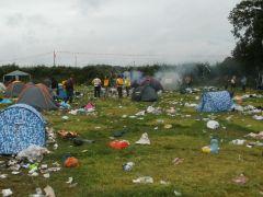 Burning Tents