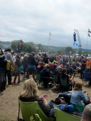 Glastonbury 2015 Chair people