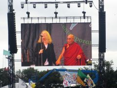 Glastonbury 2015 Patti & Dalai
