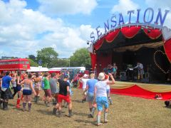 Glastonbury 2015 Sensation stage