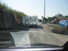 Entry onto Pylle Lane, off A37