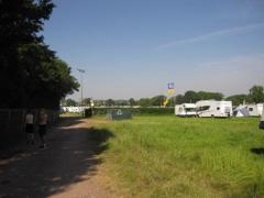 This is what you get in the CV fields, grass and your own van