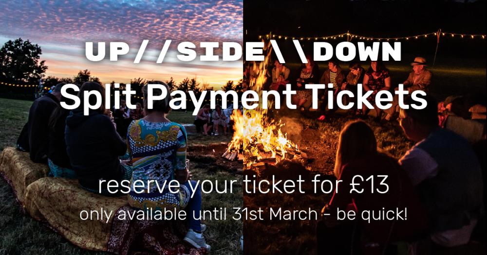 upsidedown festival split payment deposit scheme installments.png