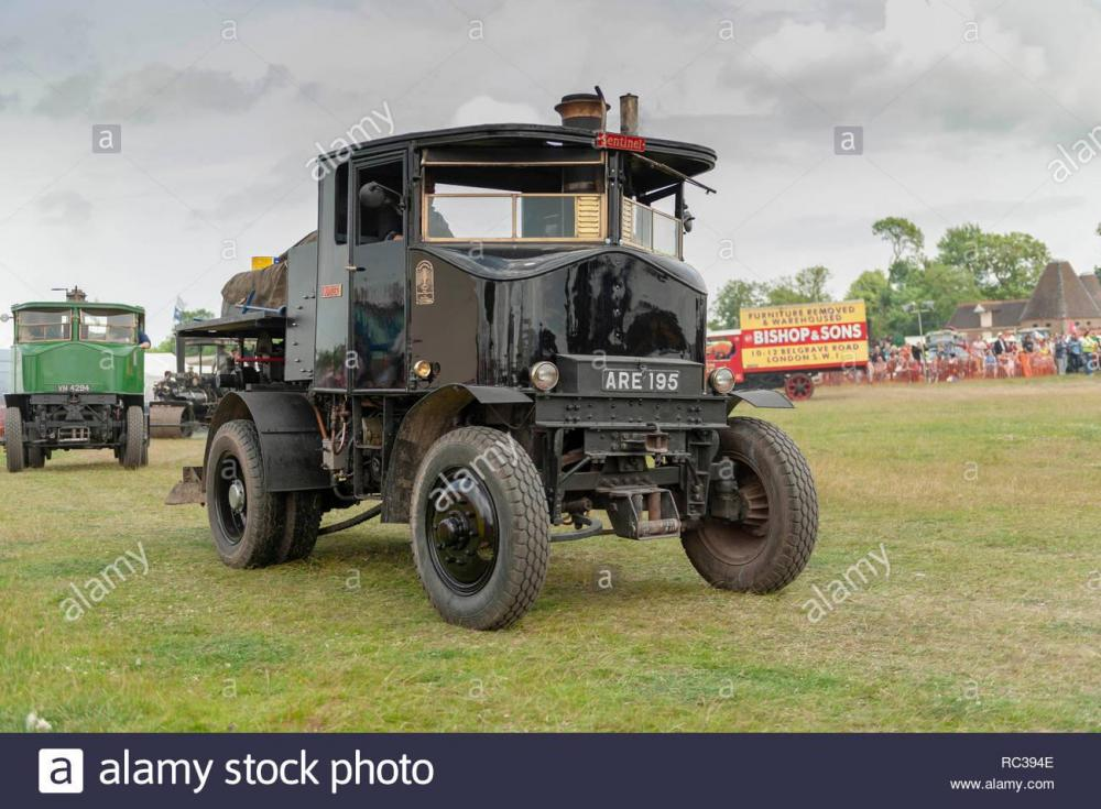 vintage-1934-sentinel-steam-lorry-at-preston-steam-rally-RC394E.jpg