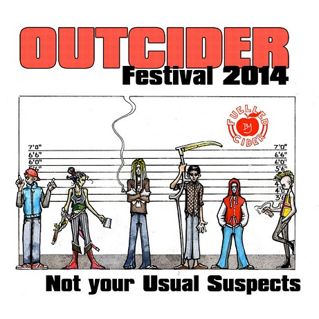 The Outcider Festival is taking place from Friday 1st to Sunday 3rd ...
