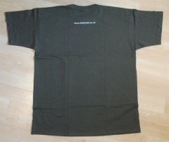 Khaki t-shirt - back