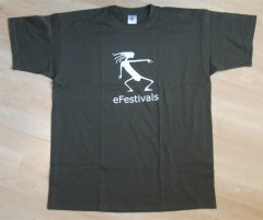 the eFestivals t-shirt