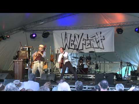 John Otway & Wild Willy Barret at Weyfest 2009 - Really Free