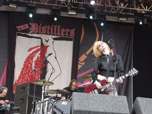 The Distillers @ Download 2004