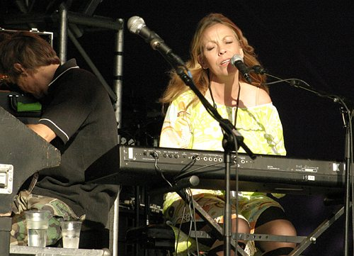 Rickie Lee Jones @ GuilFest 2004