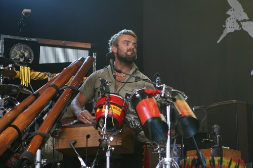 Xavier Rudd @ Beautiful Days 2008