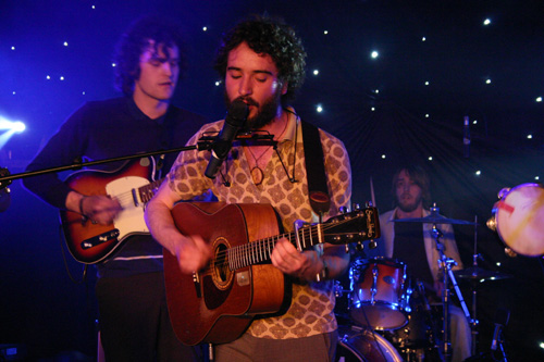 Andy Hickie & The Merry Maidens @ Glastonbury Festival New Talent Competition 2008