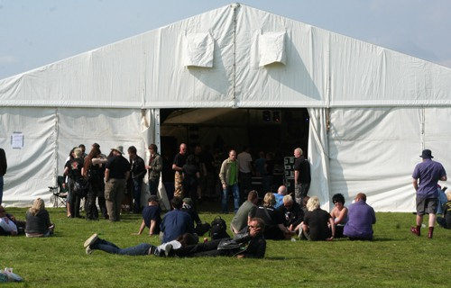 around the site @ Strummercamp 2008