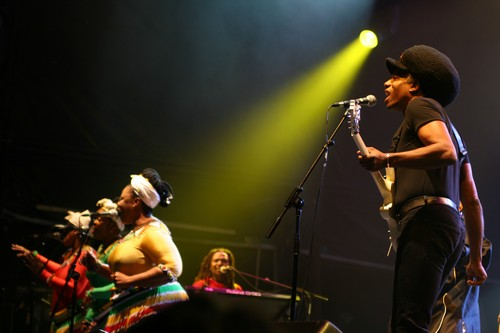 Eddy Grant and His Frontline Orchestra @ WOMAD 2008