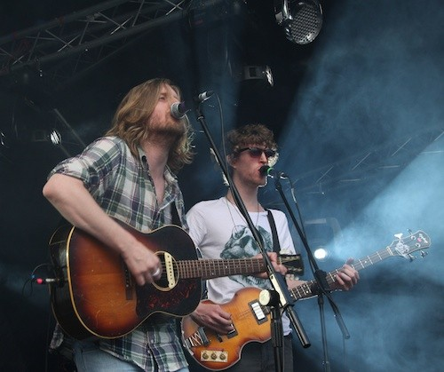 Andy Burrows (I Am Arrows) @ Blissfields 2011