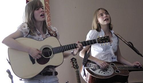 The Carrivick Sisters for Ireby Music Festival 2015