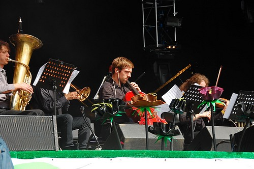 Brandt Brauer Frick Ensemble @ West Holts @ Glastonbury Festival 2011