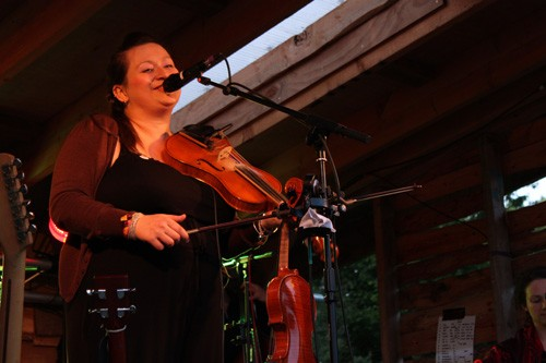 Eliza Carthy Band @ Wood 2011