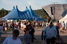 around the festival site (people)