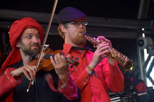 Orkestra Del Sol @ BoomTown Fair 2013