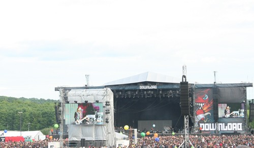 in the crowd at Download 2013