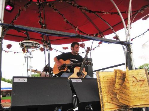 Rodney Branigan @ Glastonbury Festival 2013