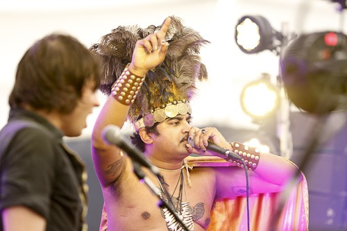 King Khan And The Shrines @ I Will Be Your Mirror 2013