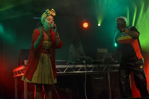 Prince Fatty Soundsystem ft Horseman and Hollie Cook @ Shambala 2013