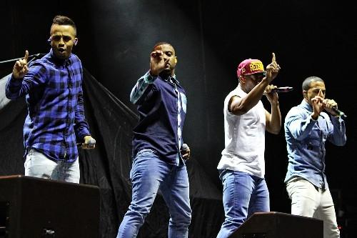 JLS @ Sundown Festival 2013