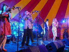 The Ten Pound Suit Band @ Watchet Music Festival 2013