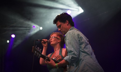 Kathryn Roberts And Sean Lakeman @ Beautiful Days 2014