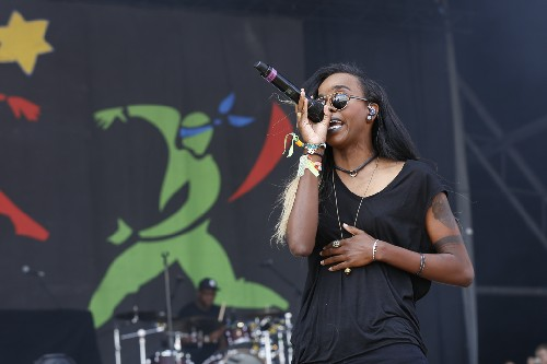 Angel Haze @ Glastonbury Festival 2014